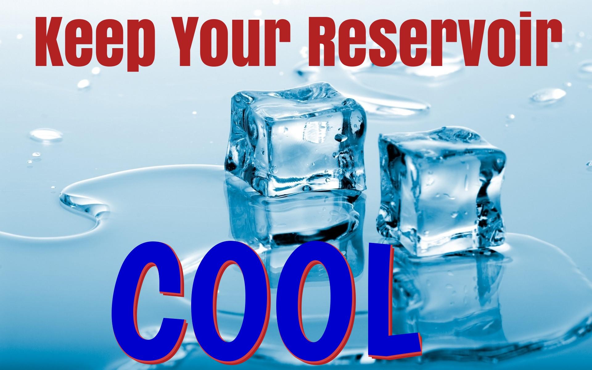hydroponic reservoir cooling
