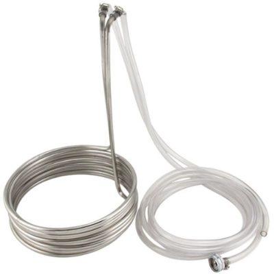 coil for chilling reservoir